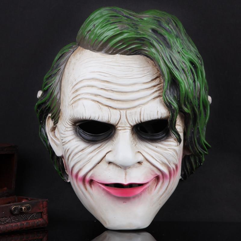 Film Batman Dark Knight masque visage Cosplay adulte fête mascarade masques résine Halloween masque
