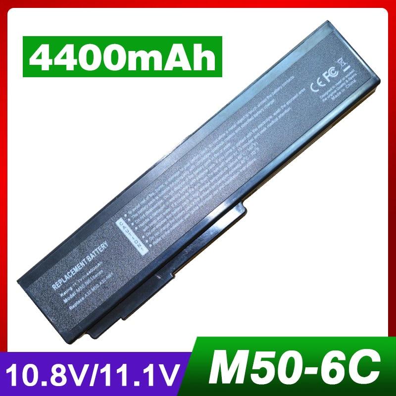 4400 mah laptop akku für asus x57 x57q x57s x57sr x57v x57vc...
