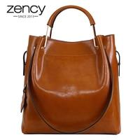 Fashion Vintage Genuine Leather Women Casual Luxury Designer Ladies Handbag Shoulder Tote Crossbody Purse Bolso Mujer
