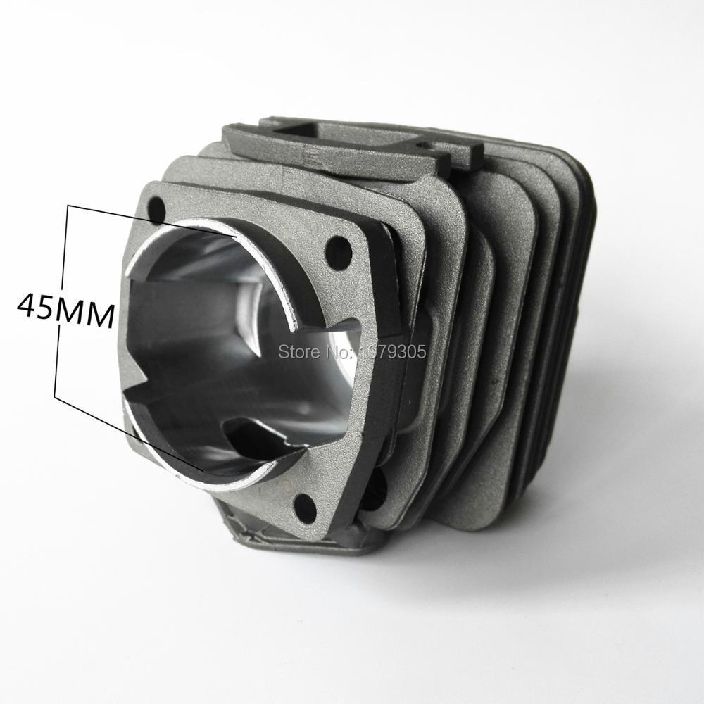 52CC 5200 Цилиндър и бутало с диаметър 45 - Градински инструменти - Снимка 6