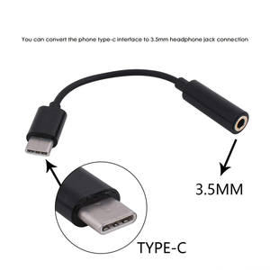 Type-C-Adapter Cable Earphone Mi6-Accessory-Bundles USB Xiaomi Headset To for Speaker