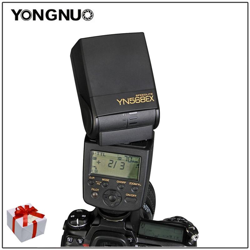 YongNuo YN-568EX YN568EX TTL Wireless HSS Flash Speedlite for Nikon D4 D3x D3s D800E D700 D7000 D90 D80 D5200 D5100 D3100 D40x yongnuo yn685n wireless ttl ittl hss speedlite flash for nikon support yn560iv rf603ii or pixel d17 battery grip for nikon d500