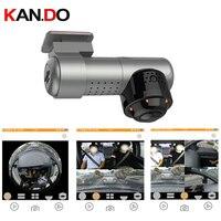 2160Pixel Vehicle DVR camera parking monitor 360 degree View Panoramic car camera Car DVR 360° for Taxi drive Dash Camera VR