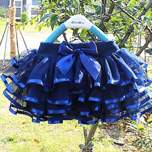 Tutu saia do bebê menina saias 2-10 anos princesa mini pettiskirt festa dança tule saias meninas roupas de verão crianças roupas