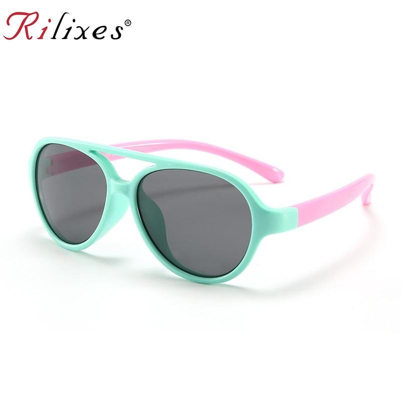 d22f88dd2f Detail Feedback Questions about Girls Sunglasses Kids Sun glasses Children  Glasses Polarized Lenses Girls Boys TR90 Silicone UV400 Child Mirror Baby  Eyewear ...