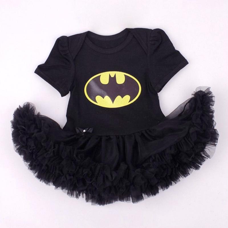Mėlyna Supermenas Kūdikių kostiumai Nėriniai Petti Romper - Kūdikių drabužiai - Nuotrauka 4