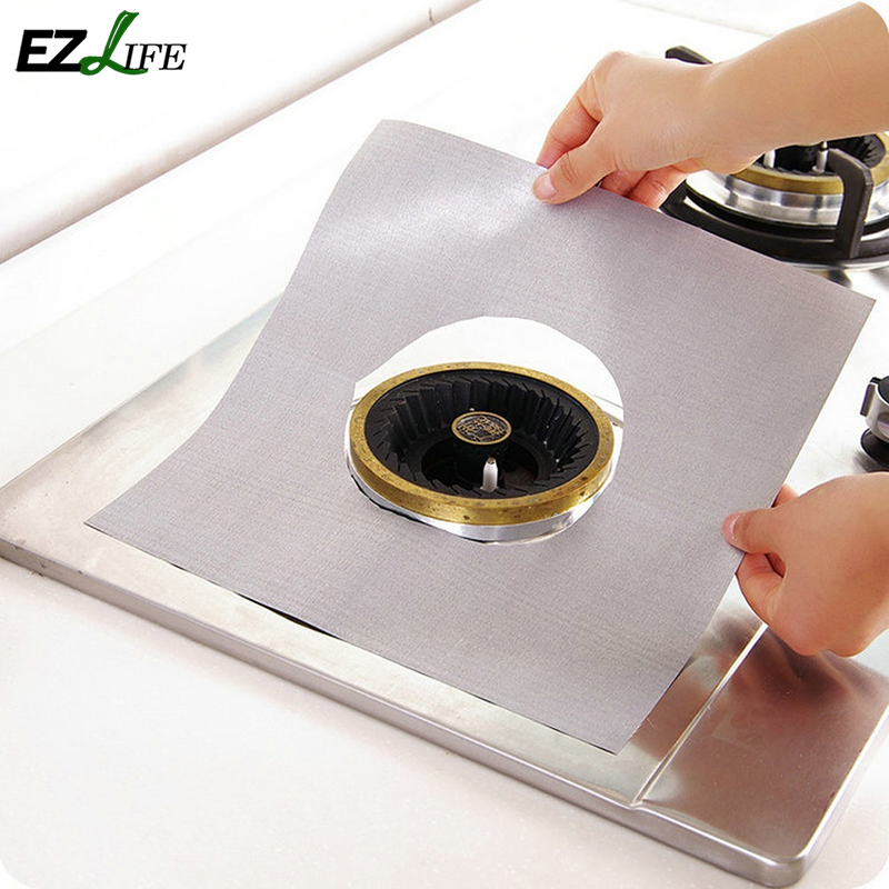 Square Washable Heat Resistant Gas Hob Gas Burner Cooker