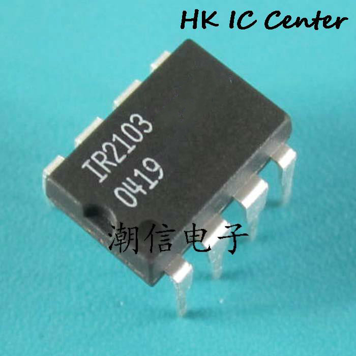 10PCS <font><b>IR2103</b></font> IR2103PBF DIP-8 Original In Stock HALF-BRIDGE DRIVER IC NEW image