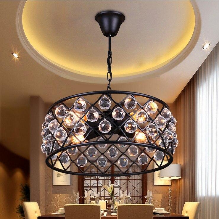 Nordic Amerikanischen Land Schmiedeeisen Kreative Persnlichkeit Wohnzimmer Schlafzimmer Lampe Minimalistische Restaurant Kronleuchter Kostenloser Versand