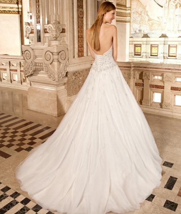 2016 Half Sleeve Wedding Gowns Sweetheart Bling Bling Beaded Glitter  Wedding Dresses A Line Sheer Back Vestido Novia L6632016 on Aliexpress.com   0f614477cc2b