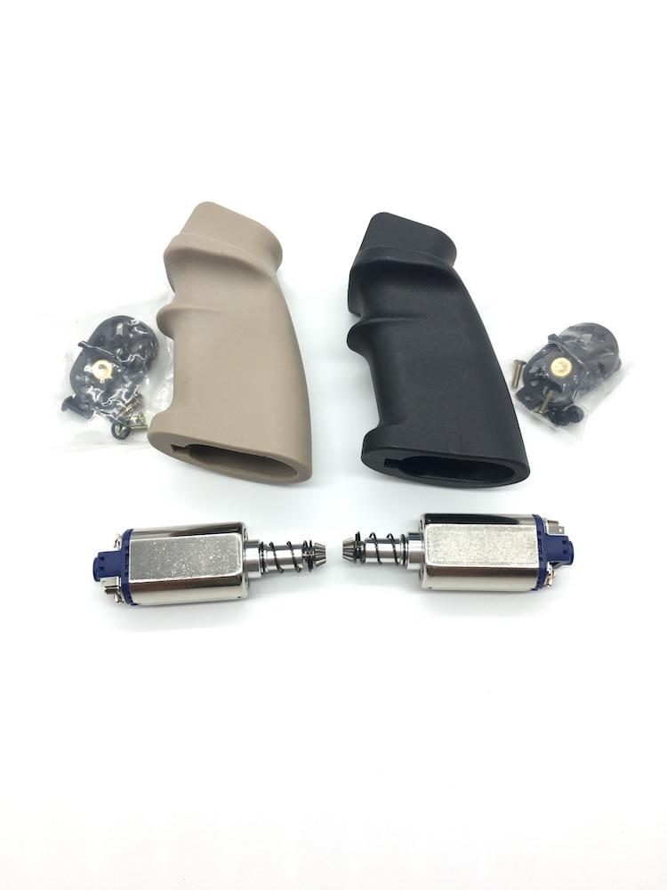 JinMing J9 Gen9 Water Gel Ball Blaster AEG Airsoft Nylon MK12 SPR Motor Grip Back Grip With 480 Motor Metal Base Cover Case