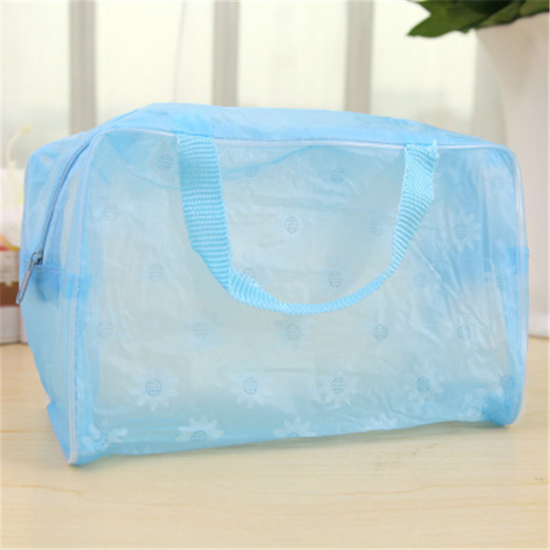 Travel <font><b>Cosmetic</b></font> <font><b>Bag</b></font>, <font><b>transparent</b></font> waterproof <font><b>cosmetic</b></font> <font><b>bag</b></font>, wash <font><b>bag</b></font>, trumpet portable storage <font><b>bag</b></font>.3134 image
