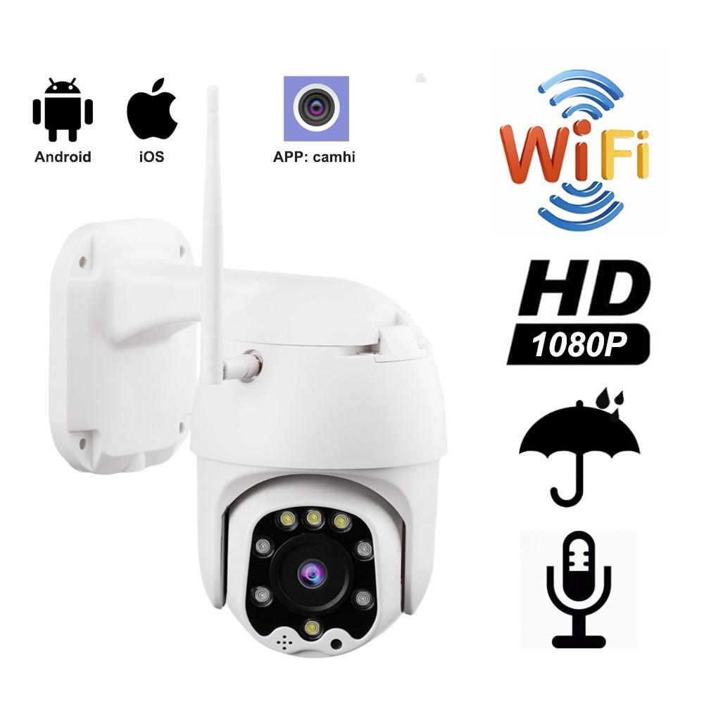 1080P PTZ IP Camera CamHi Two Way Audio Wireless Wifi Security Camera IR Network 2MP CCTV