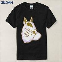 Designer Shirts O Neck English Bull Terrier Dog Lover Pet Gift Present Size S Xxl Men