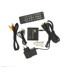 REDAMIGO 1080P MINI Media Player for car HDD MultiMedia Video Player Media box with car Adapter HDMI AV USB SD/MMC HDDK7+C+A стоимость