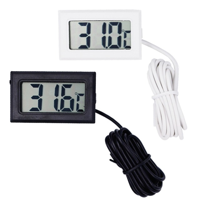 200pcs TPM-10 Digital LCD Thermometer Temperature sensor Meter Weather Station Diagnostic-tool Thermal Regulator
