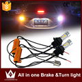Night Lord Gold color Two Function WY21W/ PY21W/ 7440/7443/3156/3157/ 20W LED Car Rear Turn Signals + Break light All in one