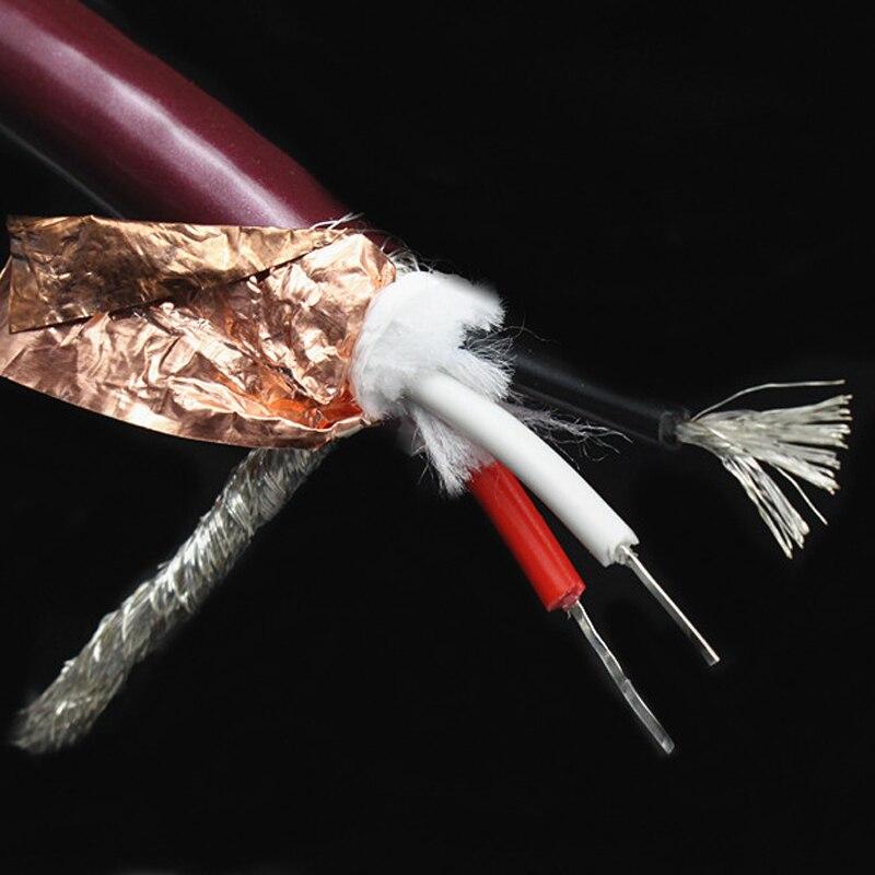 HIFI argent pur OCS + argent plaqué 3 noyaux amplificateur de puissance câble d'interconnexion Audio on AliExpress - 11.11_Double 11_Singles' Day 1