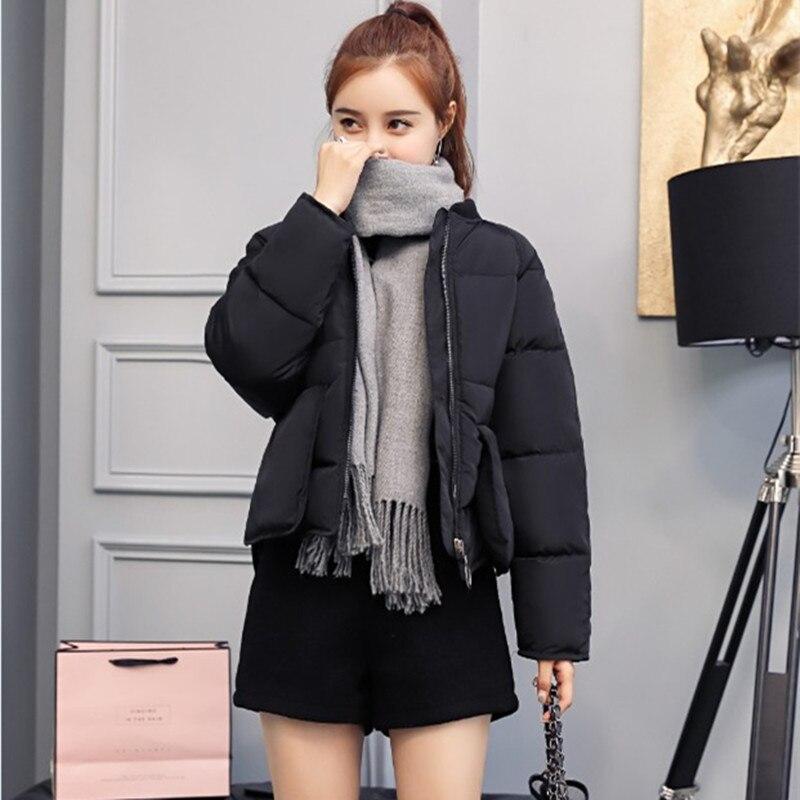 M-2XL  Women Winter Coat Long Jacket Warm Casual Cotton Jacket Parkas Clothes Female Black Outerwear Coat 017-920MC9