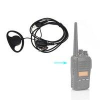 talkie walkie 2 פין Earhook אוזניות PTT אוזניות אוזניות מיקרופון תואם עבור Talkie Walkie מידלנד LXT560 LXT500 GXT1000 GXT1050 GXT500 (1)