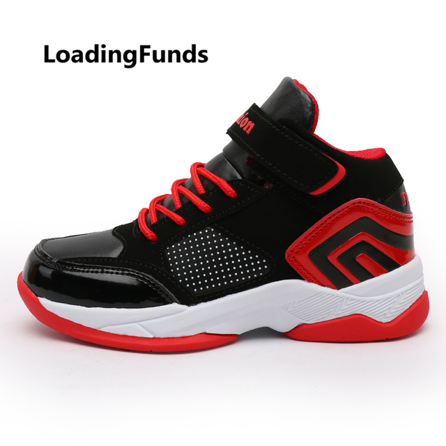 c6cbf489d6e6 LoadingFunds Kid s Sneakers Boy Basketball Shoes Girl Walking Shoes Baby  Children Footwear All Match Sports Boot gamin chaussure
