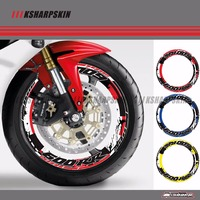 4 X Thick Edge Outer Rim Sticker Stripe Wheel Decals FIT HONDA CBR 600RR CBR600RR ALL