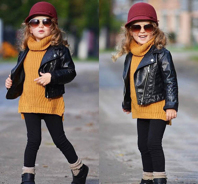 7548a77281333 US $106.0 |0 5Y Baby Girl Boy Clothes High Neck knitted girls Sweater warm  Children sweater Kids Poloneck Turtleneck Winter spring Pullover-in ...