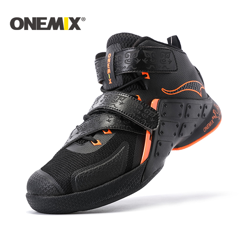 ONEMIX new basketball shoes arrival mens top quailty sport shoes waterproof males athletic Shoes wholesale US7-12 2017 new arrival kind of shoes waterproof leather boots us7