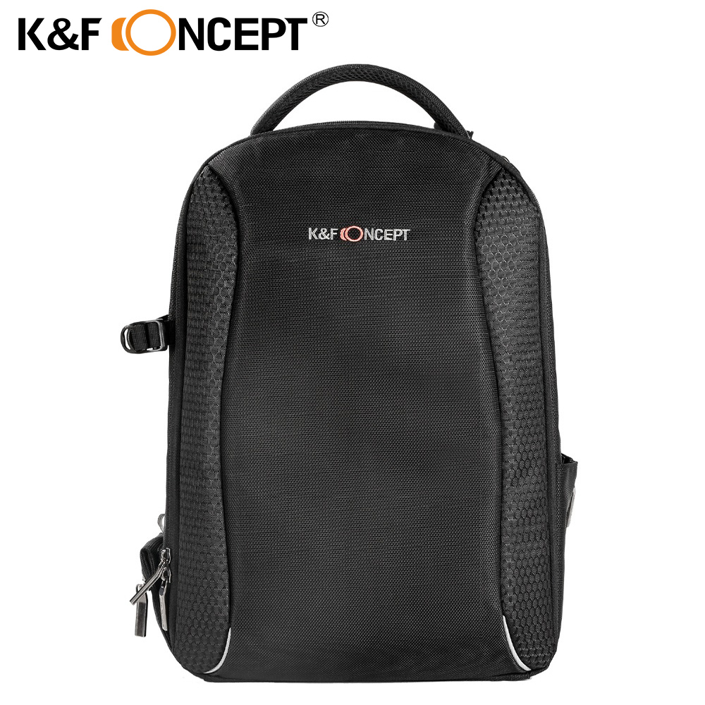 K&F CONCEPT Waterproof Digital DSLR Photo Padded Backpack w Rain Cover Laptop 14 Multi-functional Camera Bag Video Case Holder dslr camera laptop backpack waterproof photo digital dslr camera bag rucksack camera video bag slr camera rain cover li 1632