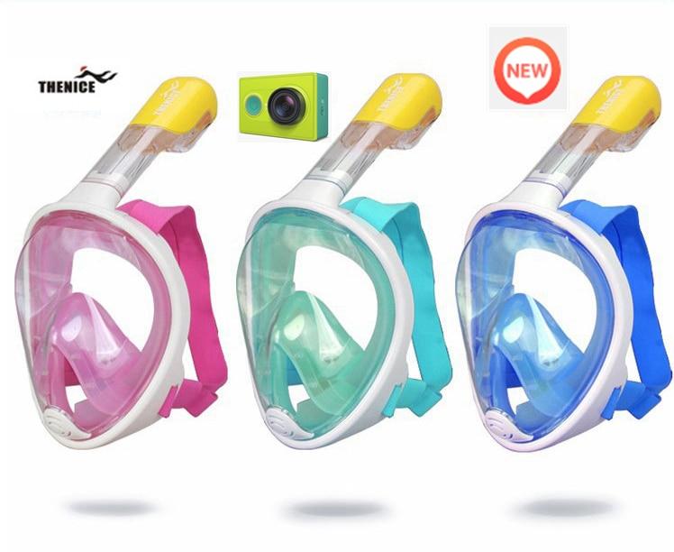Snorkel Mask Scuba Snorkeling Dry Tribord Full Face Easybreath Diving Glasses