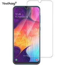 2PCS For Samsung Galaxy A10 Glass Full Glue Screen Protector 9H Tempered Film