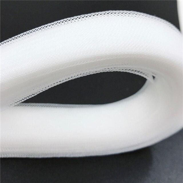 Rõ ràng Lông Bờm Ngựa Khung Làm Cái Vái Phùng Ống Crin Cắt Tỉa lưới ribbon sử dụng cho Bện Mũ Fascinator craft 1 cm ~ 16 cm bạn có thể chọn