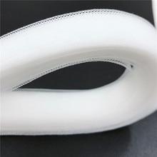 Soft Horsehair Crinoline Clear mesh mesh fabric braid  regilin for hats1cm ~16cm craft  Sewing accessories