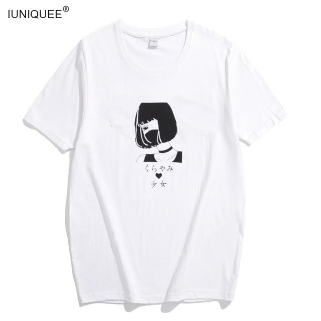 2018 Summer Fashion Printed T-Shirt Tops Women Cool Girls White Cotton Tshirt Harajuku Ladies Short Sleeve T Shirt Female Tees