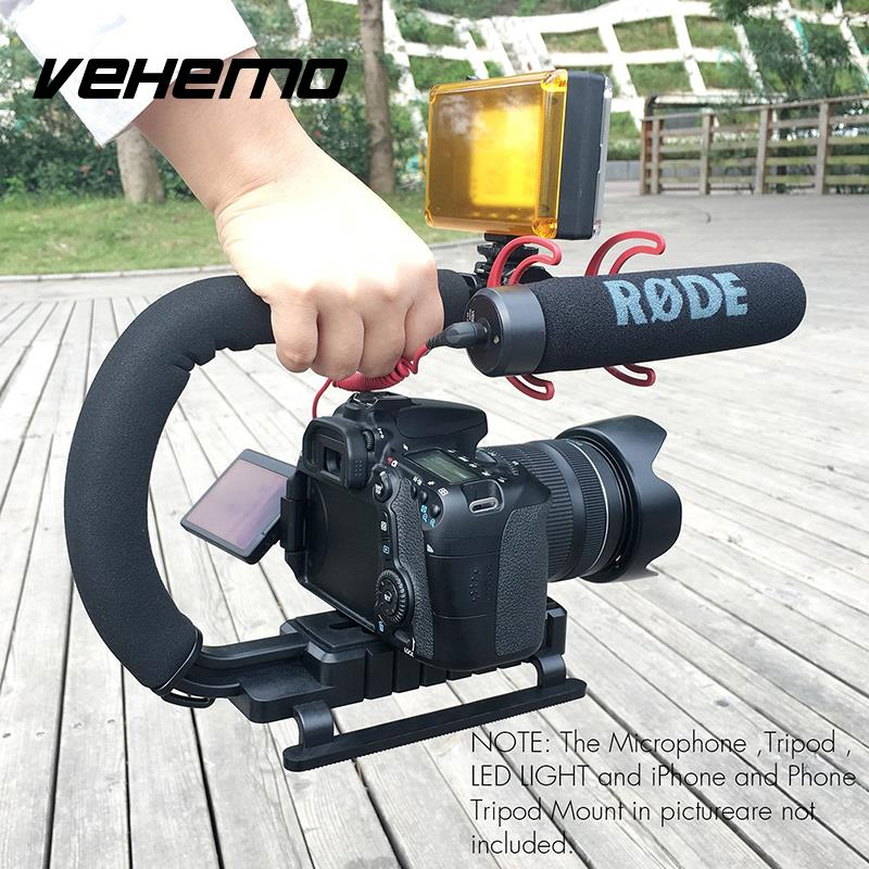 Hot Shoe Stabilizer And Fun U-Type DV Handheld Handheld Shoes Hanging (Removable) 1/4-20 Line 29 X 20 X 10.5 Cm Advanced ABS