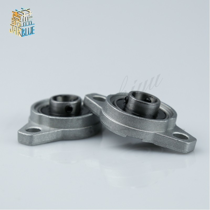 15mm Bore Ball Mounted Block Cast Housing Self-aligning Pillow Bearing Brand New