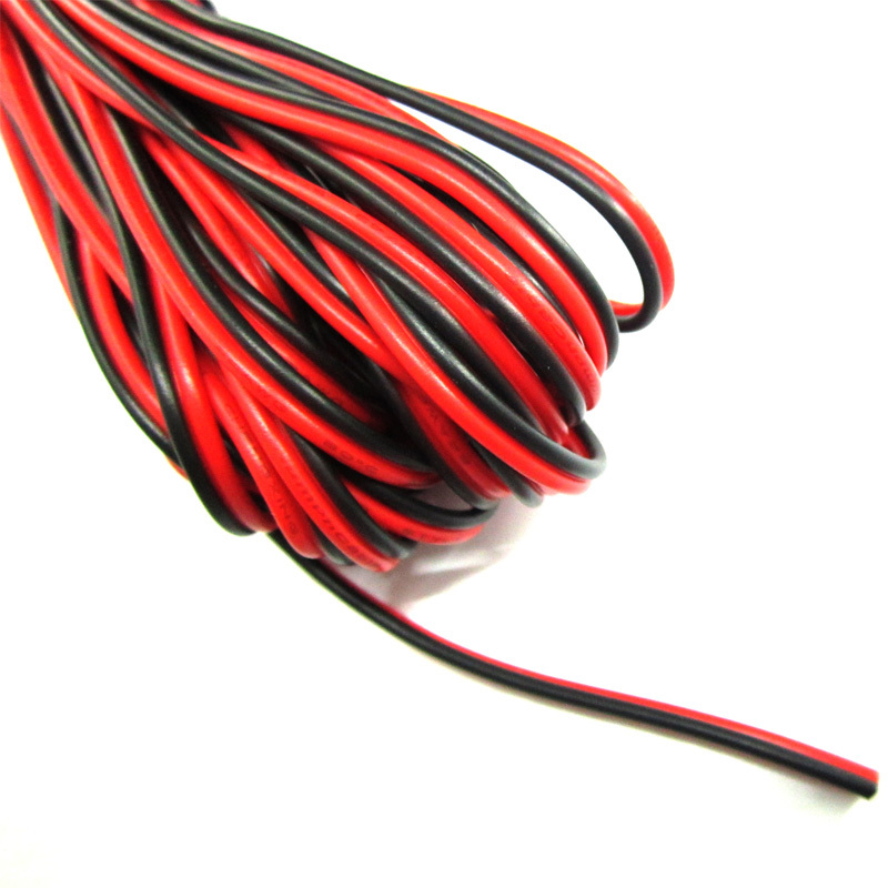 Electrical Wire: Red And Black Electrical Wire