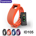 Femperna ID105HR Bluetooth Smart Bracelet Smartband Heart Rate Monitor Pedometer Sport Fitness Tracker for IOS Android Phone