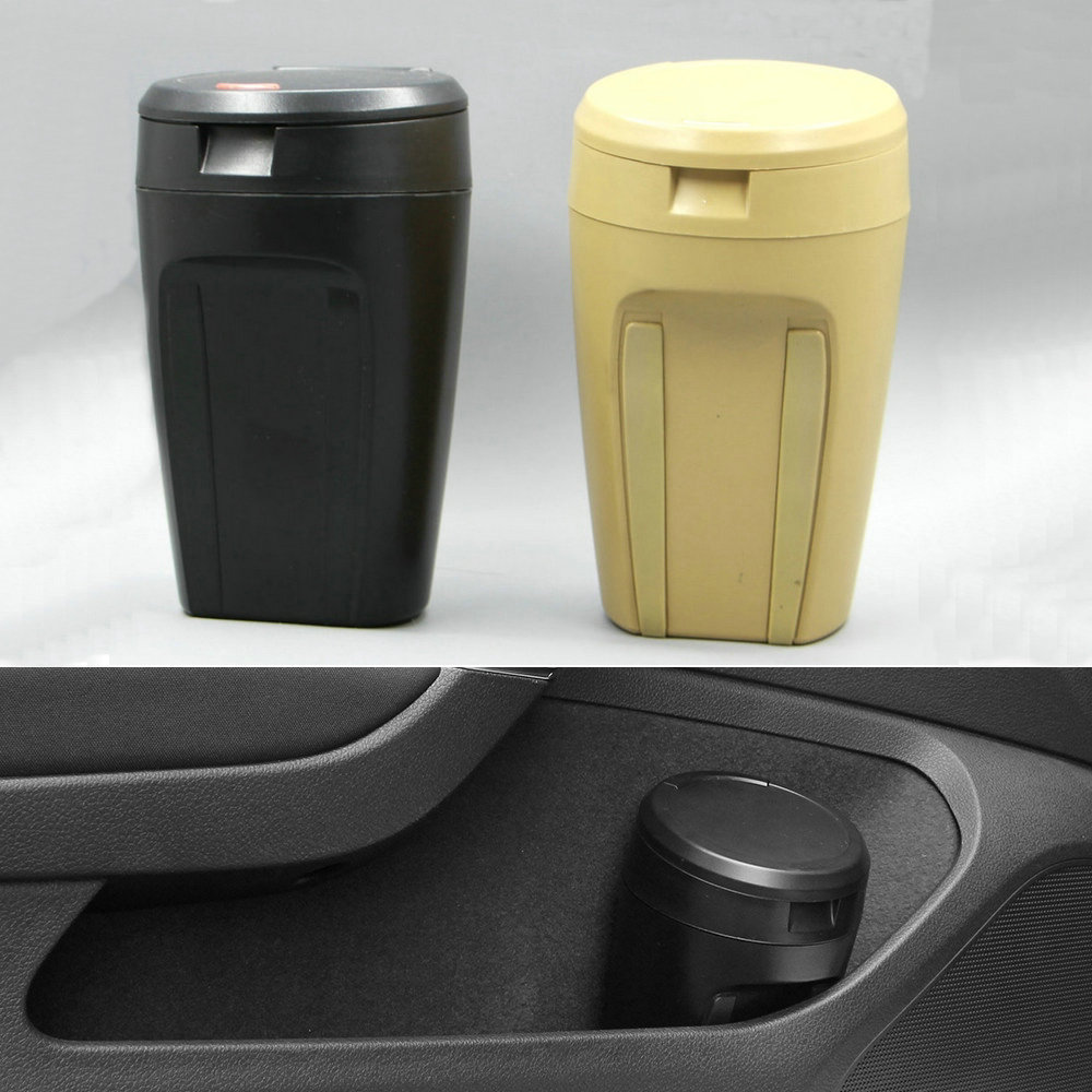 apply to Car Interior Trash Cans FIT FOR with VW MK7 MK6 GOLF 7 6 GTI Tiguan Passat NEW POLO Jetta R 6pcs set car interior 3d dashboard panel console switch sticker for vw golf jetta mk6 gti