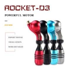 ROCKET D3 Drive Direct Rotary Tattoo Machine Krachtige Motor Rotary Tattoo Machine Roatry Tattoo Gun