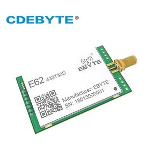 Image 2 - E62 433T30D Full Duplex UART 433mhz 1W SMA Antenna IoT uhf 30dBm Wireless Transceiver Transmitter Receiver rf Module