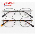 New arrival brand retro alloy eyeglasses most popular oval optical frame for man and women unisex fashion eyewear 100016