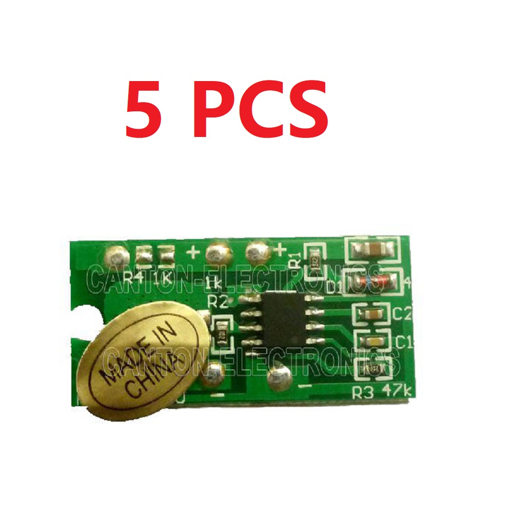 25pcs 3.7-5V 3528 White LED & 5pcs Touch LED Driver Controller DC-DC Constant Current Converter for li-on USB Solar battery