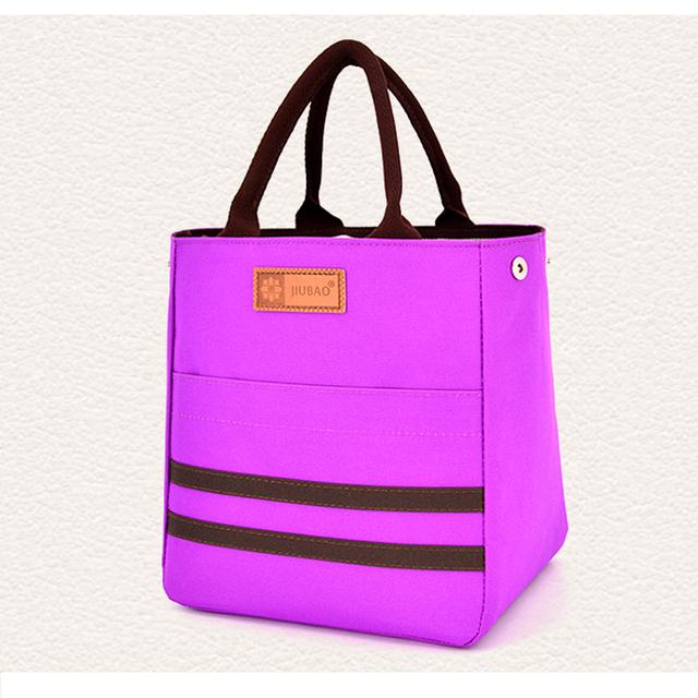 Leve e Durável Redonda Pequena Caixa de Almoço Almoço Sacos Saco das Mulheres Dos Homens de Bolso Mujer Loncheras para Piquenique Comida Zipper Tote bolsas