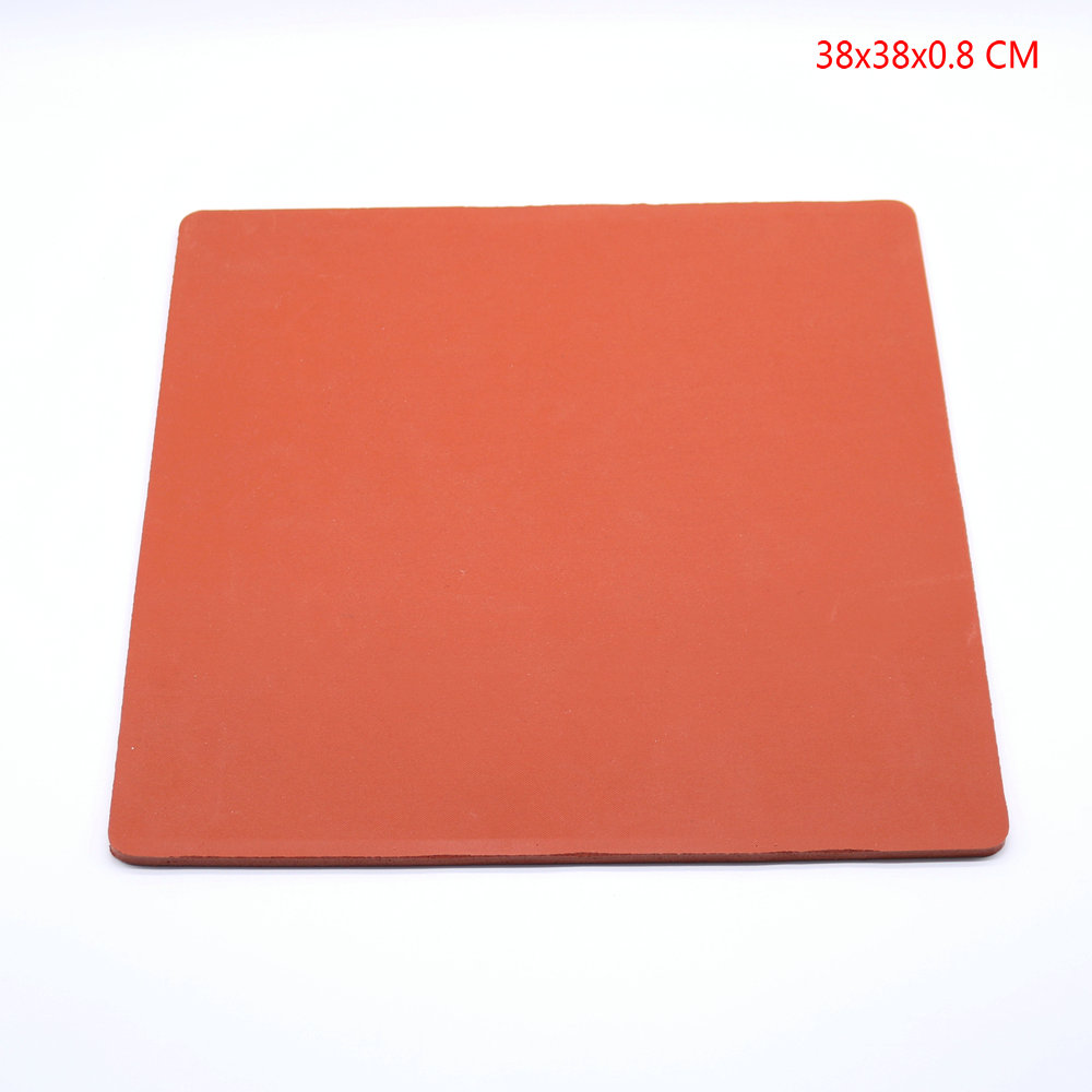 15x15 Silicone Pad for Flat Heat Press Machine Replacement High Temp PadSilicone Sponge Rubber Sheet Plate Pad 1 pcs 38 38cm small heat press machine hp230a