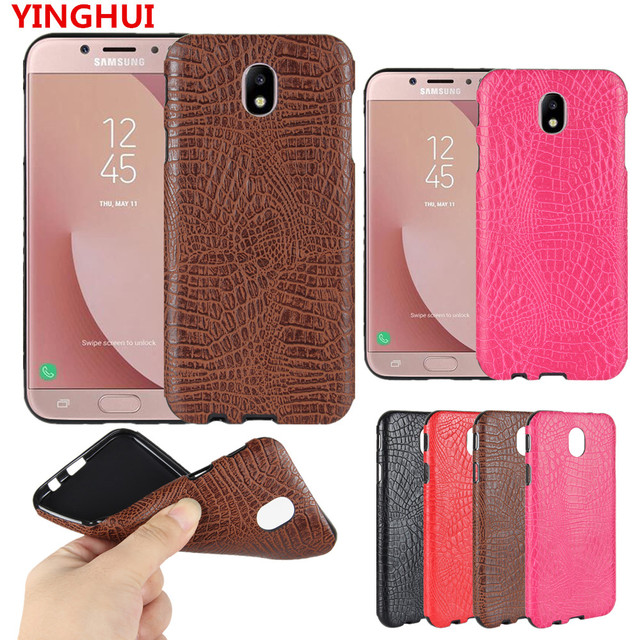 best cheap a4238 362ec US $2.51 16% OFF|For Samsung Galaxy J7 2017 Case Crocodile pattern PU  leather soft Case For Samsung Galaxy J7 Pro fashion Phone Case Back  Cover-in ...
