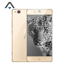 Original zte nubia z9 elite nx508j 4g lte handy 5,2 zoll Qualcomm Snapdragon 810 Octa-core 4 GB RAM 64 GB ROM 16MP NFC OTG