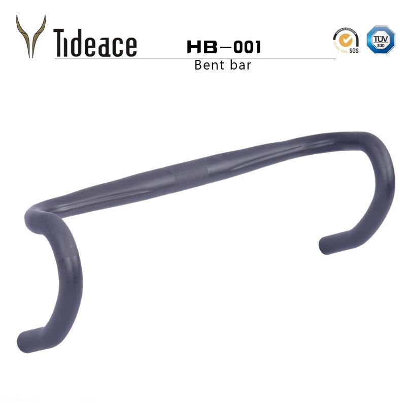 Cycling Bicycle Handlebars UD Carbon Road Bike Bent handlebar carbon fiber road handlebar 31 8mm 400