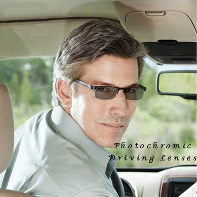 1.56 gamme de SPH progressif brun ou gris photochromique-6.00 ~ + 5.50 Max CLY-4.00 ajouter + 1.00 ~-+ 3.50 lentilles optiques pour lunettes - 5