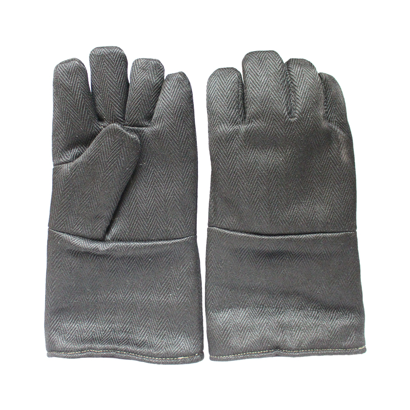 Free shipping  high temperature 1200 centigrade insulated & resistant quality safety protecting gloves anti-fire working gloves 12kv live working gloves insulated high voltage insulated rubber gloves electrician specials